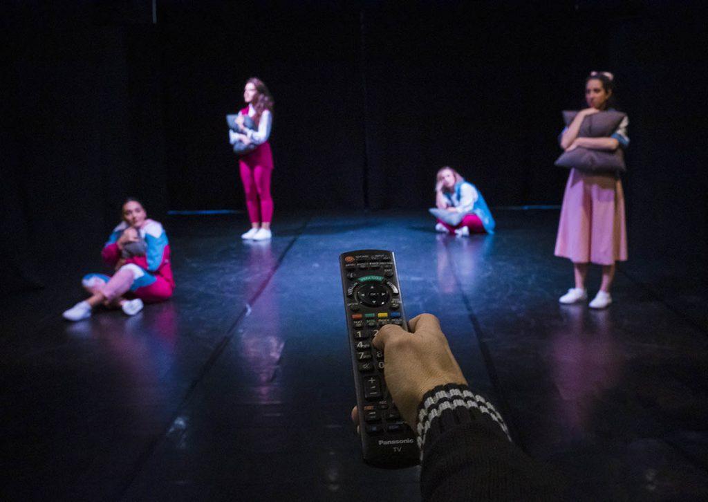 Spettacolo danza interattivo